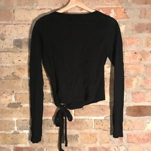 f94128db580fb Forever 21 Sweaters - Forever 21 Mock Wrap Sweater-Knit Top NWT